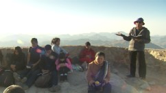 VIDEO: Part 5: Christiane Amanpour and her son Darius climb Mount Sinai as Moses did.