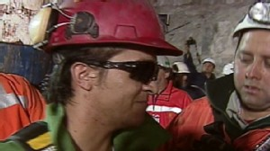VIDEO: Ariel Ticona Yanez, 29, exits Chiles San Jose Mine.