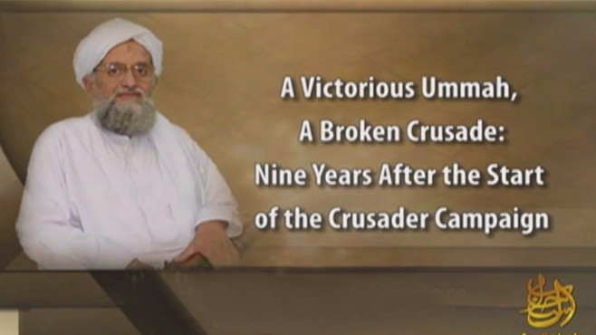 VIDEO: Ayman Al-Zawahiri releases message after the ninth anniversary of Sept. 11.