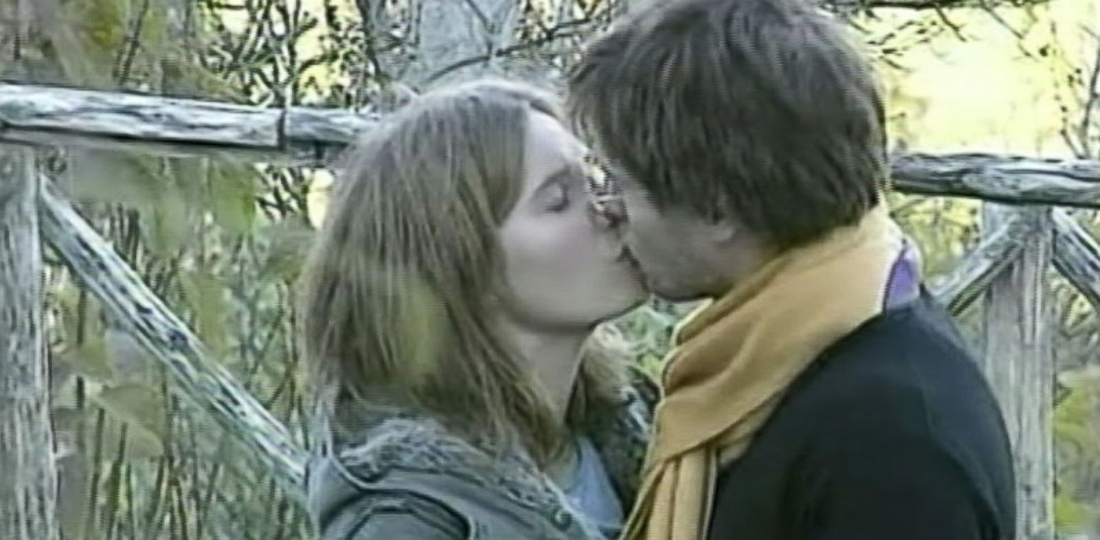 PHOTO: Amanda Knox and Raffaele Sollecito are seen embracing hours after Meredith Kerchers body was found in Italy in 2007.