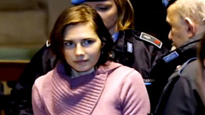 PHOTO Friends of Amanda Knox have put a video on YouTube to counter upcoming movie about Knox. Hayden Panettiere plays Amanda Knox, jailed for the headline murder of her roommate, in the upcoming movie.