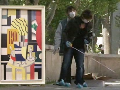 VIDEO: Works by Picasso and Matisse were stolen from the Museum of Modern Art in Paris.