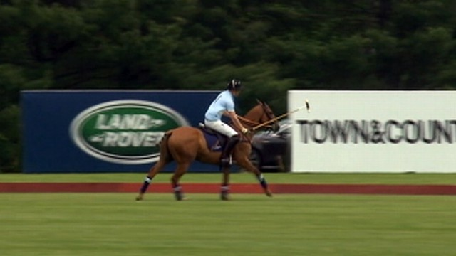 Video: Prince Harry Plays Polo in Connecticut for Charity