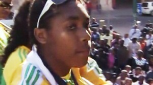 Video: Controversial South African runner returns home.