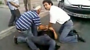 VIDEO: Amateur video purportedly shows female protester after she was shot in Iran.