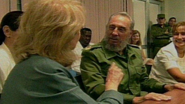 VIDEO: Barbara Walters Interviews Fidel Castro 2002