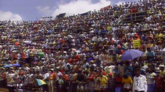 VIDEO: Nelson Mandela's hometown of Soweto, South Africa, celebrates his freedom.