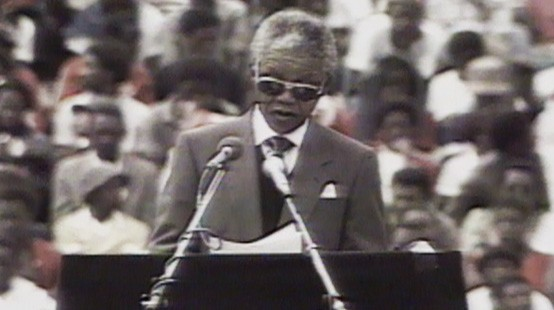 VIDEO: Nelson Mandela's new freedom and government changes invigorate South Africans.