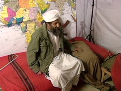 VIDEO: Osama bin Laden blames U.S. support of Israel for 9/11 attacks.