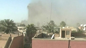 3 Blasts Strike Baghdad Hotel District