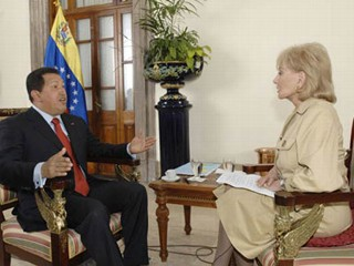 Barbara Walters Recalls Chavez Interview