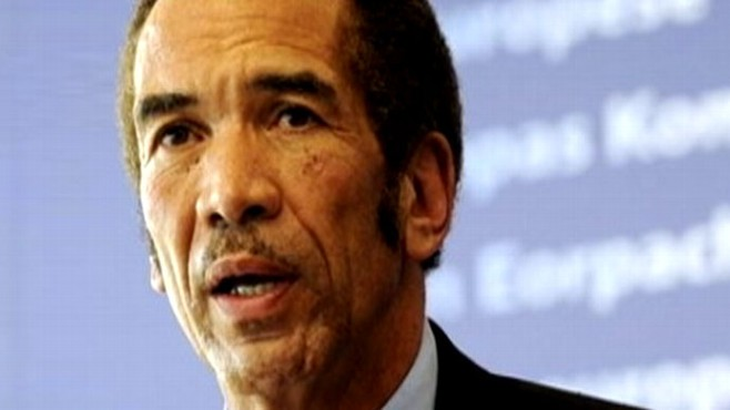Video: Botswana President says he's looking for love.
