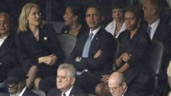 VIDEO: First Lady's South Africa 'Frowning' Photos Spark Buzz