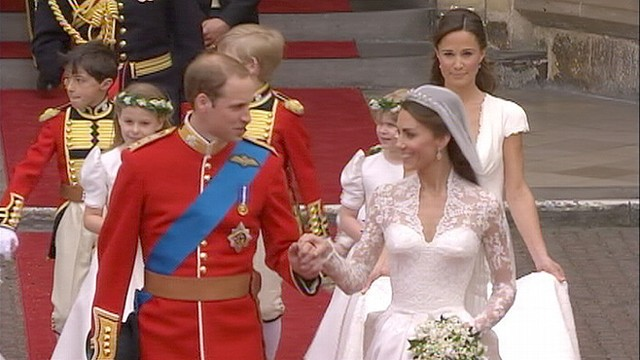 Royal Wedding Live Prince William Marries Kate Middleton