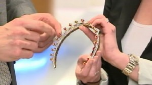 VIDEO: Bianna Golodryga on which tiara is grand enough to top future princess head.