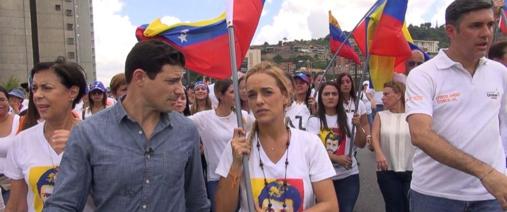 """ABCs Matt Gutman is seen here in Venezuela reporting for ABC News """"Nightline."""""""