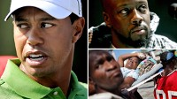 PHOTO Tiger Woods not donating money to Haiti effort at this time.