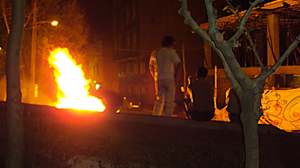 PHOTO Fireworks and music blasted in Iran?s cities on Tuesday night, as people defied orders from the religious establishment to abandon an ancient Persian ritual involving bonfires and amateur fireworks.