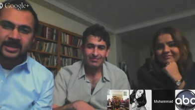 VIDEO: Google Hangout With Reporter in Iran
