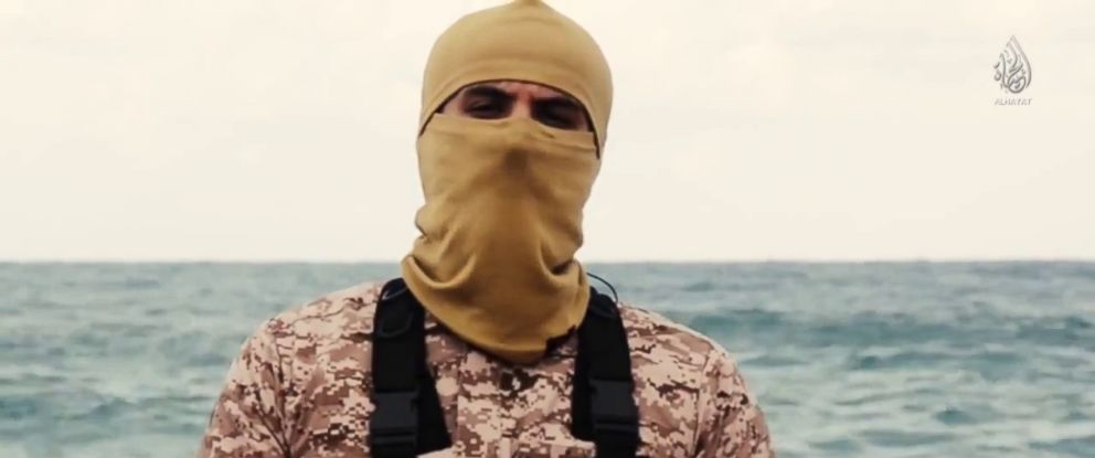 PHOTO: An unidentified, self-proclaimed member of ISIS speaks in a video purportedly produced by the terror group.