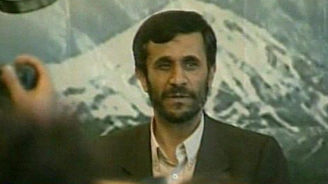 VIDEO: Mahmoud Ahmadinejad and the Ayatollah Khamenei in a political tug-of-war.