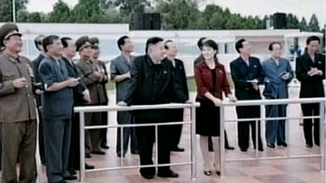 PHOTO: North Korea state TV is reporting for the first time that leader Kim Jong Un is married.