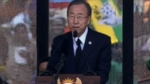 United Nations Secretary General Pays Tribute to Nelson Mandela