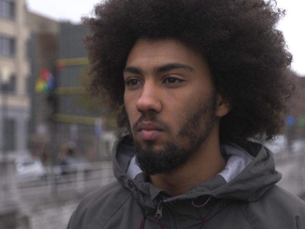 PHOTO: An image of Nabil in Molenbeek, Belgium.