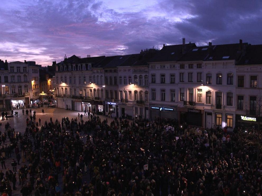 PHOTO: A scene from Molenbeek, Belgium.