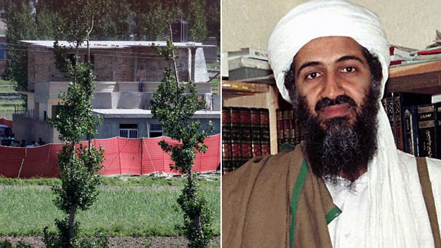 PHOTO:&nbsp;The house where it is believed al-Qaida leader Osama bin Laden, shown in this file photo, lived in Abbottabad, Pakistan, is shown May 2, 2011.