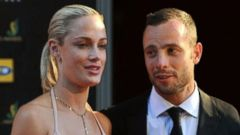 VIDEO: Oscar Pistorius read a Valentines Day card that Reeva Steenkamp gave to him before he shot her to death.