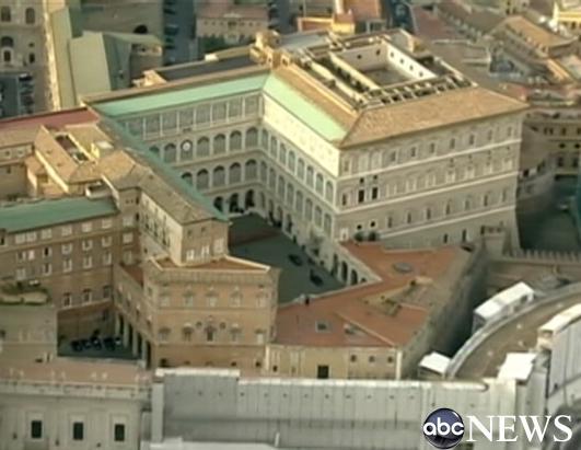 An Inside Look At The Papal Apartments Where Does Pope Sleep Photos Abc News