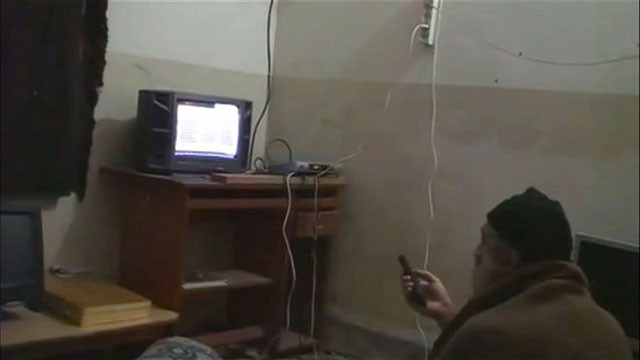 PHOTO:&nbsp;Osama Bin Laden Videos Released by Government