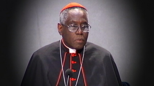 VIDEO: The 67-year-old cardinal from Guinea oversees Catholic charities around the world.