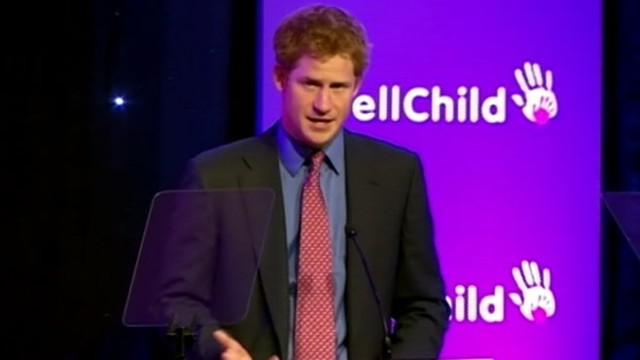 VIDEO: Prince Harry attended We