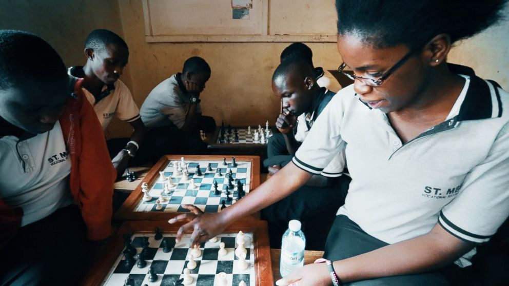 Phiona Mutesi, 'Queen of Katwe,' Rises From Uganda  Slums to Become Inspirational Chess Prodigy