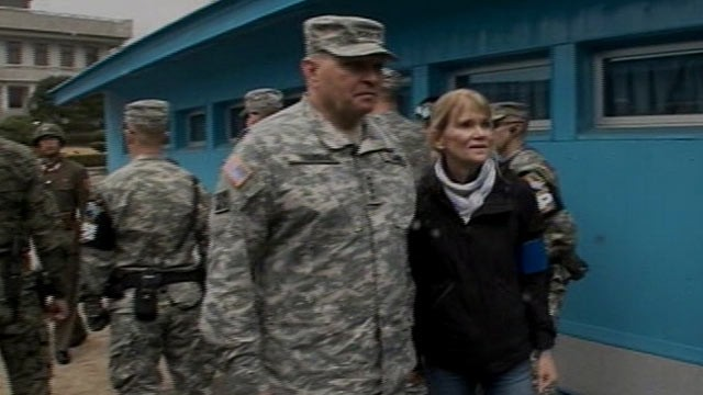 PHOTO: In an exclusive interview with Martha Raddatz, Gen. James Thurman, the top U.S. commander in South Korea, said he has never seen things as bad as they are now.