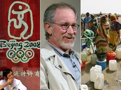 Beijing 2008 Olympics - Steven Spielberg - Darfur, Sudan [Credit: ABC News]