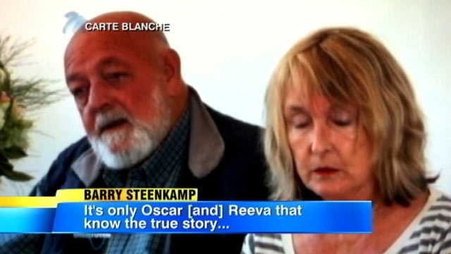 PHOTO: In their first televised interview since their daughter was shot to death by her boyfriend, Oscar Pistorius, Reeva Steenkamps parents have said that they want the world famous P