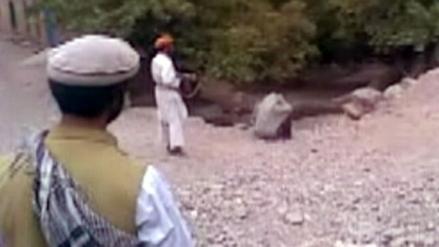 VIDEO: Video shows Taliban fighters executing a woman accused of adultery.