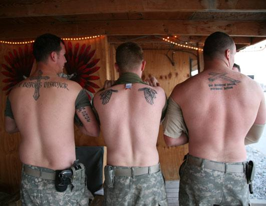 The Tale Of The Tat U S Military And Their Body Ink