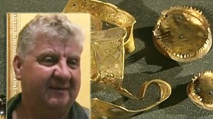 VIDEO: Terry Herbert finds buried treasure in England.