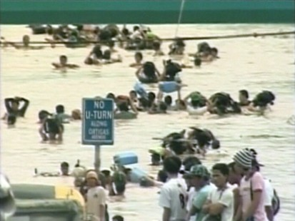 VIDEO: Hundreds are dead in Philippines flooding as relief efforts continue.