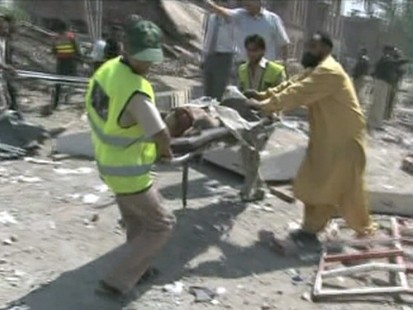 VIDEO: Car bomb kills at least 30 in Lahore, Pakistan.