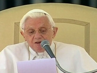 VIDEO: Pope Benedict says the Church made mistakes in handling pedophile priests.