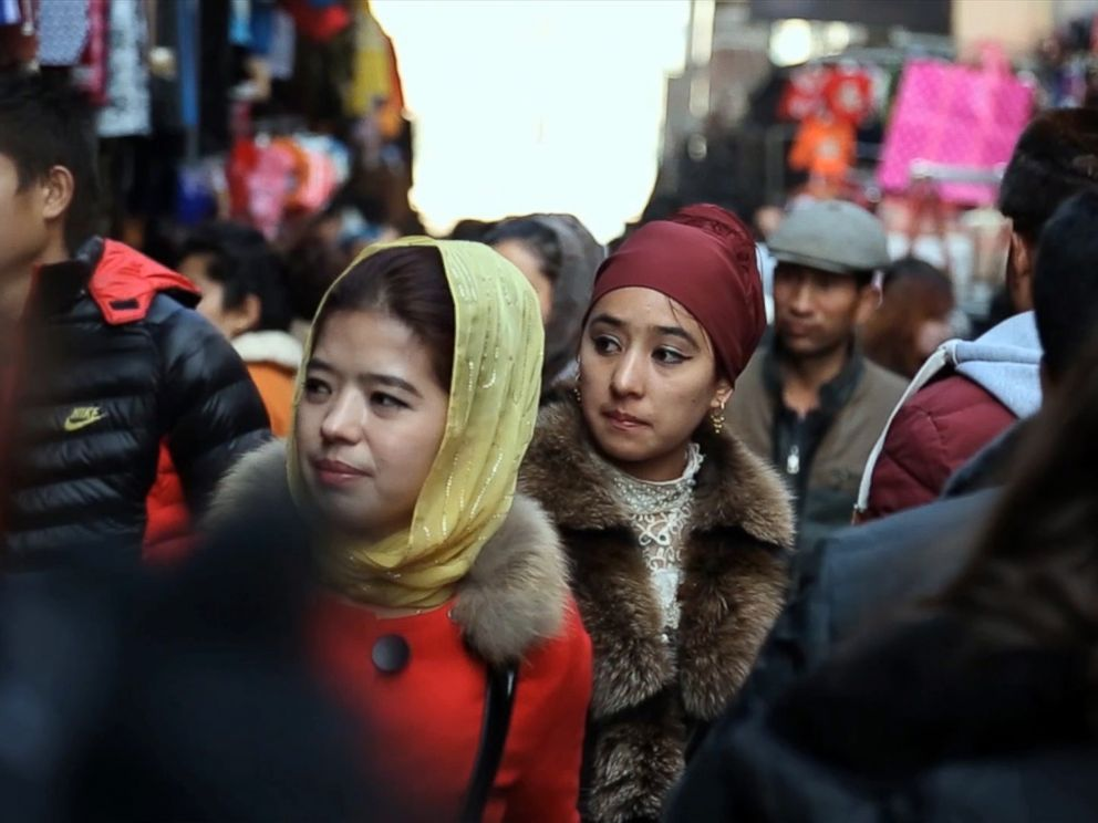 PHOTO: New laws have been put in place in Xinjiang making it illegal for men under 60 to grow beards, those under 18 cant pray in the mosques and women are encouraged not to wear headscarves.