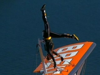 Watch: High-Flying Acrobatic Stunts Over Sydney Harbor