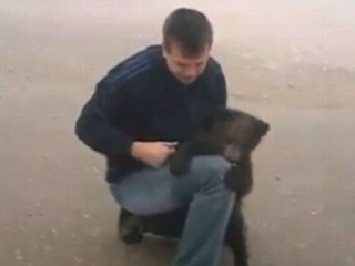 Watch: Cutest Bear Attack Ever?