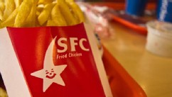 VIDEO: ABC News correspondent Muhammad Lila samples the fare at an Iranian knockoff of the fast-food chain Kentucky Fried Chicken.