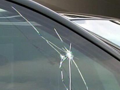 Limousine bullet holes